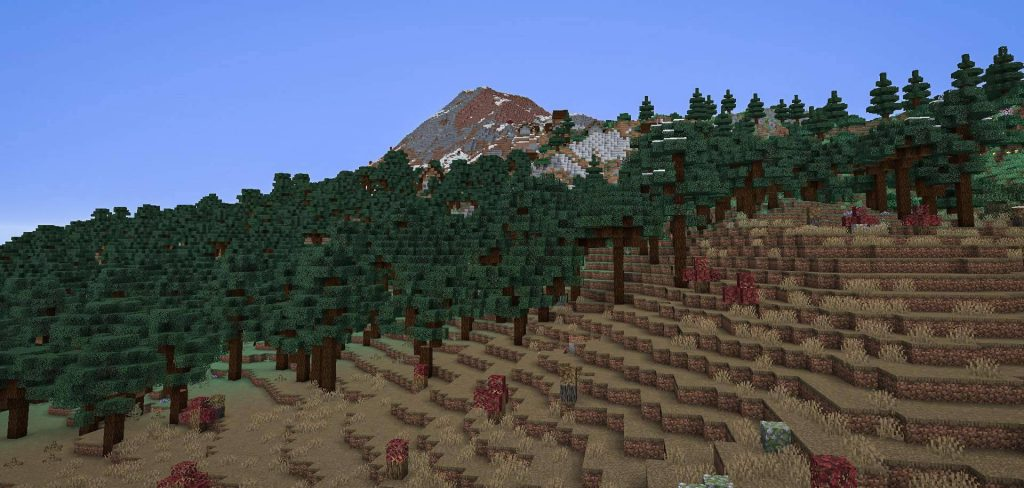 TerraForged Mod 1.16.5 | 1.15.2 - Mod Minecraft download - Screenshot 1