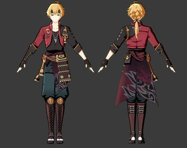 Tohama  - 22 Leaked and new characters in the Genshin Impact 1.5 and 1.6