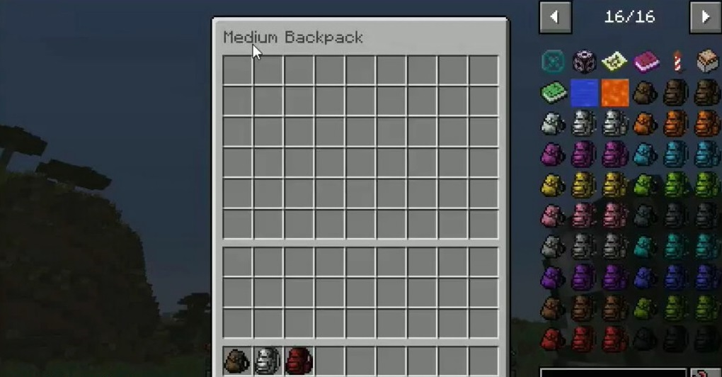Useful Backpacks Mod 1.16.5 - Screenshot 2
