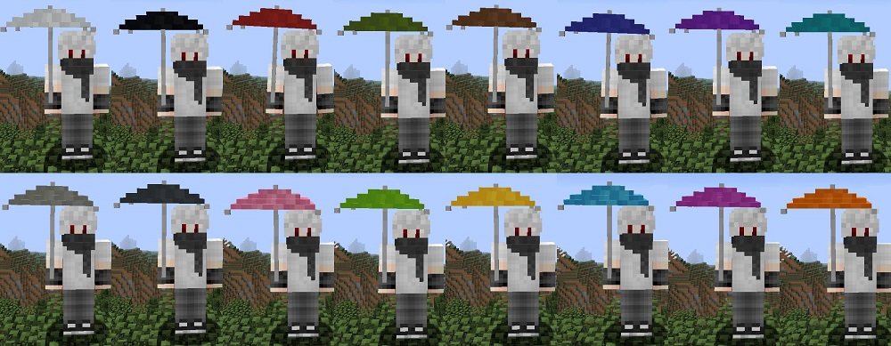 Vampires Need Umbrellas Mod 1.16.5   1.15.2 - Mod Minecraft download - Screenshot 1