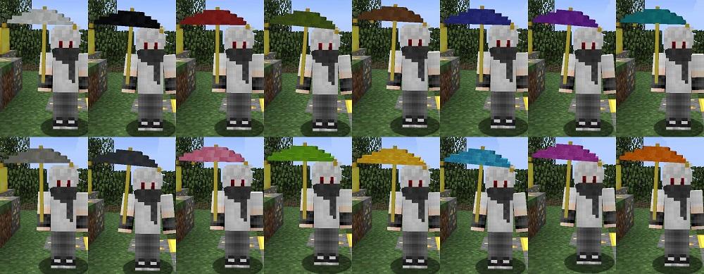 Vampires Need Umbrellas Mod 1.16.5   1.15.2 - Mod Minecraft download - Screenshot 2