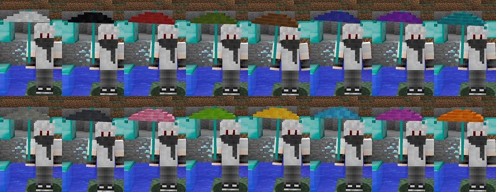 Vampires Need Umbrellas Mod 1.16.5   1.15.2 - Mod Minecraft download - Screenshot 3