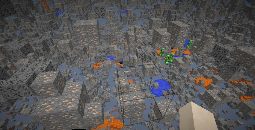 XRay Mod 1.17 | 1.16.5 | 1.15.2 - Mod Minecraft download - Screen 1