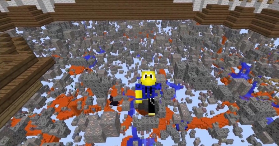 XRay Mod 1.17 | 1.16.5 | 1.15.2 - Mod Minecraft download - Screen 2