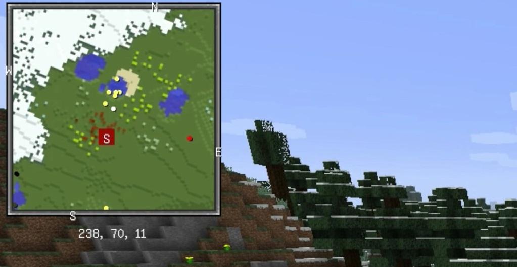 Xaero's Minimap Mod 1.16.5 | 1.15.2 - Mod Minecraft download - Screenshot 1
