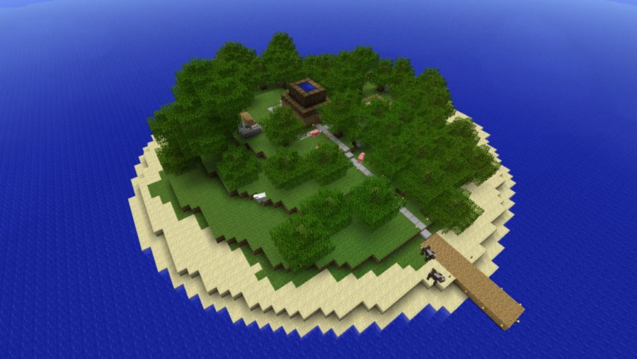 Enigma Island - Top 6 best Puzzle maps for Minecraft in 2021