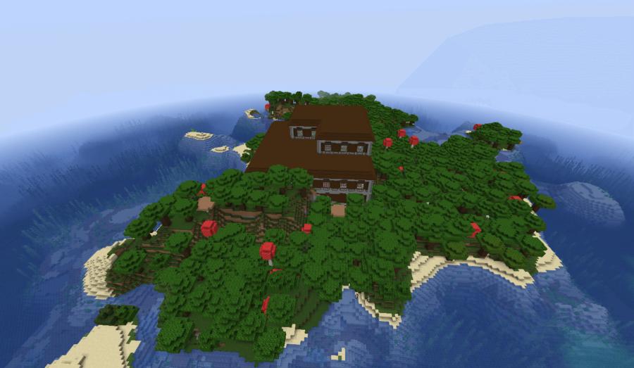 Spawn Inside a Woodland Mansion - Top 7 Best Java Woodland Mansion Seeds 1.16.5 for Minecraft in 2021