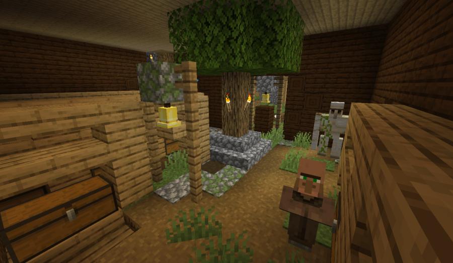 Village Spawns Inside Mansion