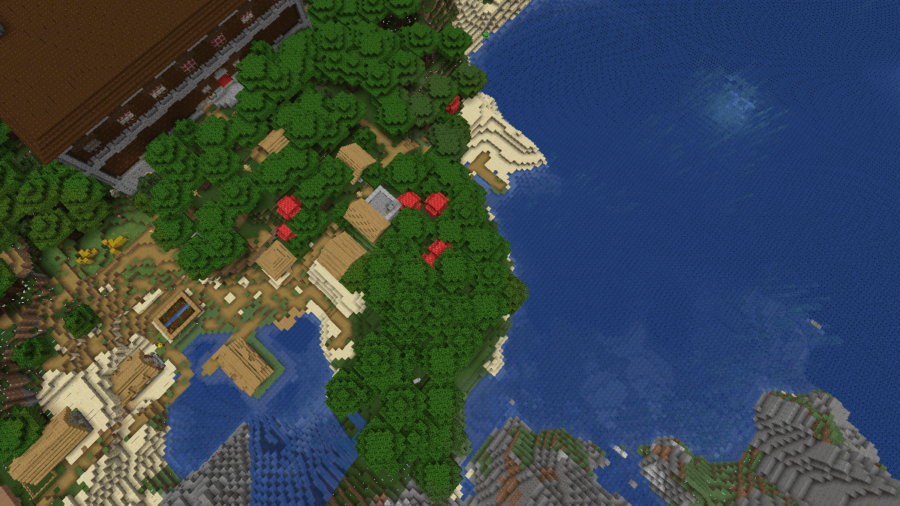 A Village, a Mansion, and a Monument Walk Into a Bar - Top 7 Best Java Woodland Mansion Seeds 1.16.5 for Minecraft in 2021