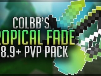 tropical fade resource pack 1 8 9 minecraft pvp texture packs
