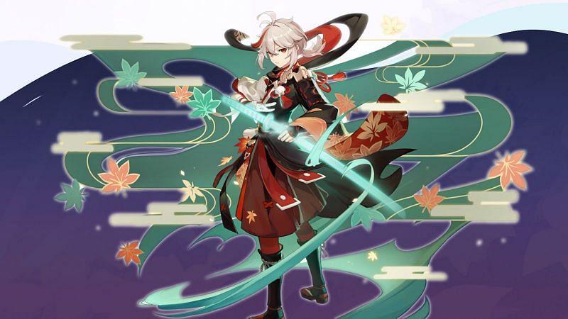 Kazuha  - Genshin Impact 1.6 Release Date, New Characters