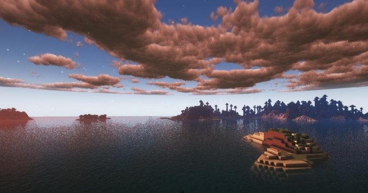 Sunflawer Shaders for Minecraft 1.16.5 - Screenshot 5