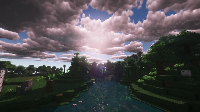 Sunflawer Shaders for Minecraft 1.16.5 - Screenshot 3