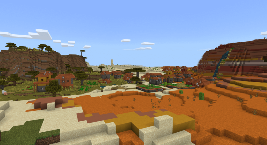 Mesa So Alone - 10 Best Minecraft Seeds 1.16, 1.17 - PS4, Xbox One & All Platforms (2021)