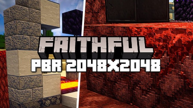 Faithful  - 5 Best Realistic Minecraft Resource Packs 1.16.5| Texture pack for Minecraft