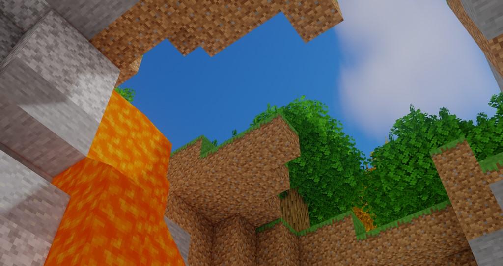 Oceano Shaders for Minecraft 1.16.5 - Screenshot 1