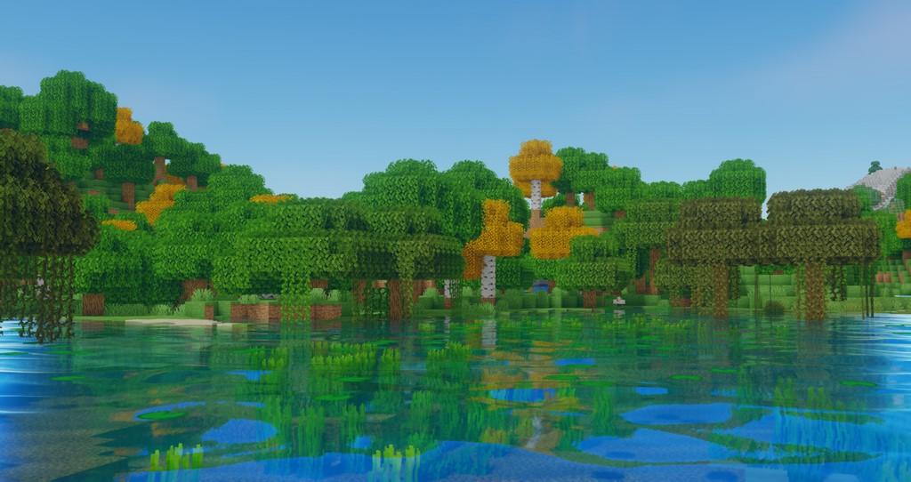 Oceano Shaders for Minecraft 1.16.5 - Screenshot 3