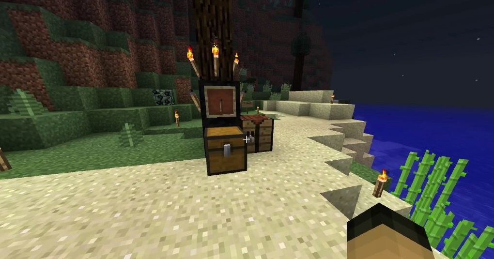 Realistic Torches Mod 1.16.5   1.15.2 - Screenshot 1