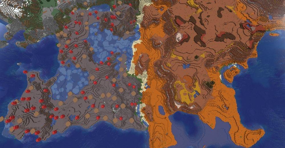 Top 5 Best Java Seeds 1.17 for Minecraft 2021 - Mushroom Mesa