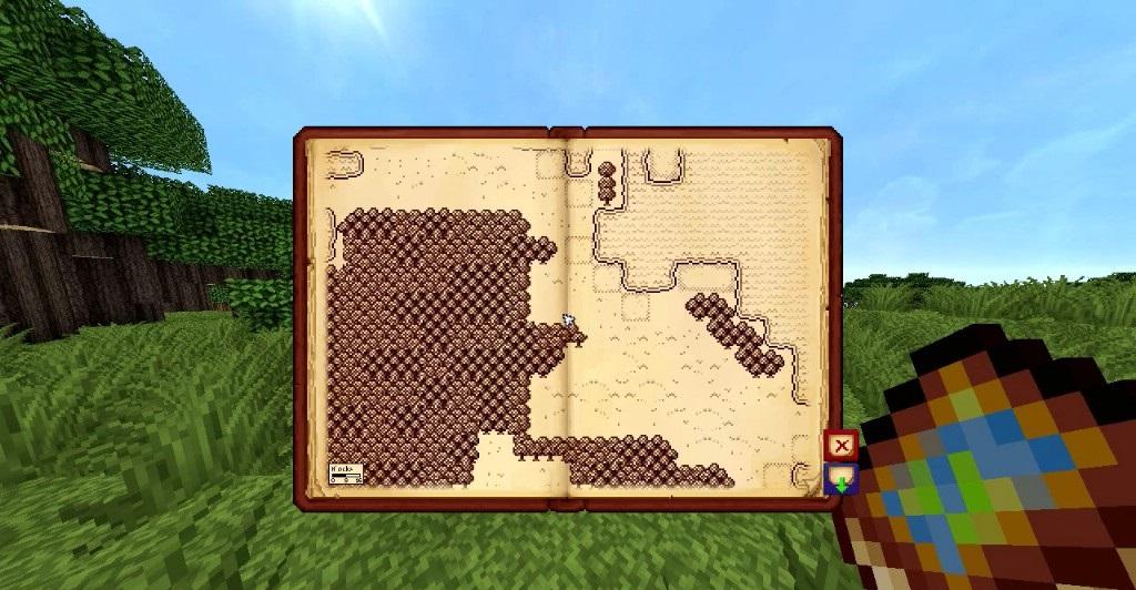 Antique Atlas Mod - Screenshot 3