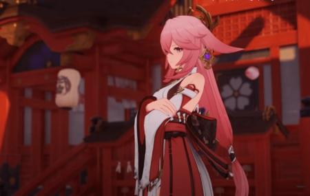 Yae Miko - Genshin Impact 2.0 Release Date, New Characters, Leaks skin .