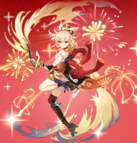 Yoimiya - Genshin Impact 2.0 Release Date, New Characters, Leaks skin .