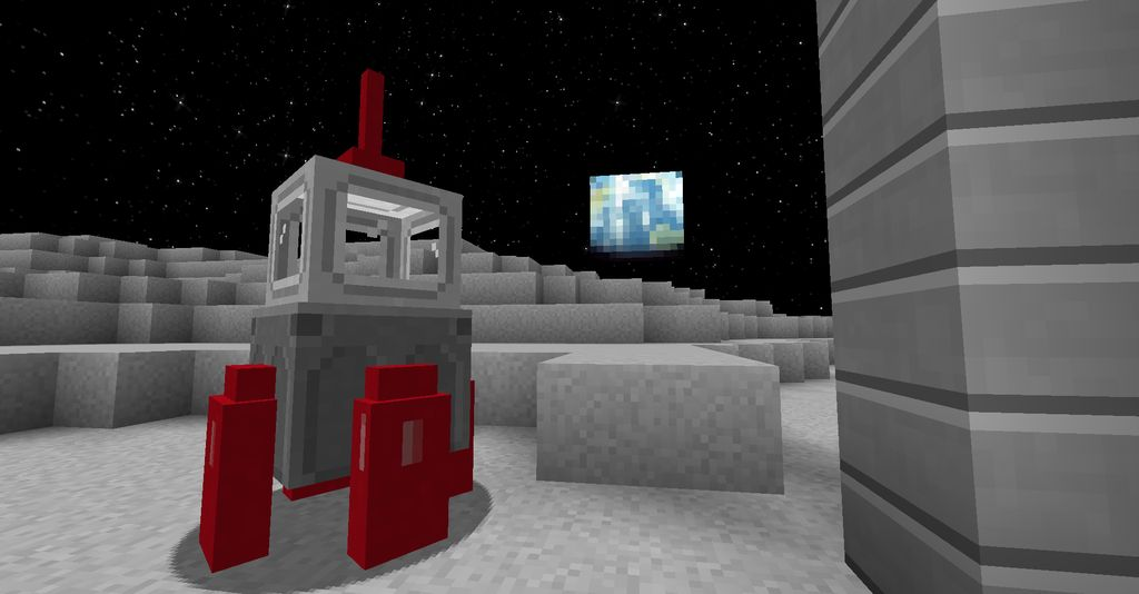 Moon and Space Mod  - Screenshot 2