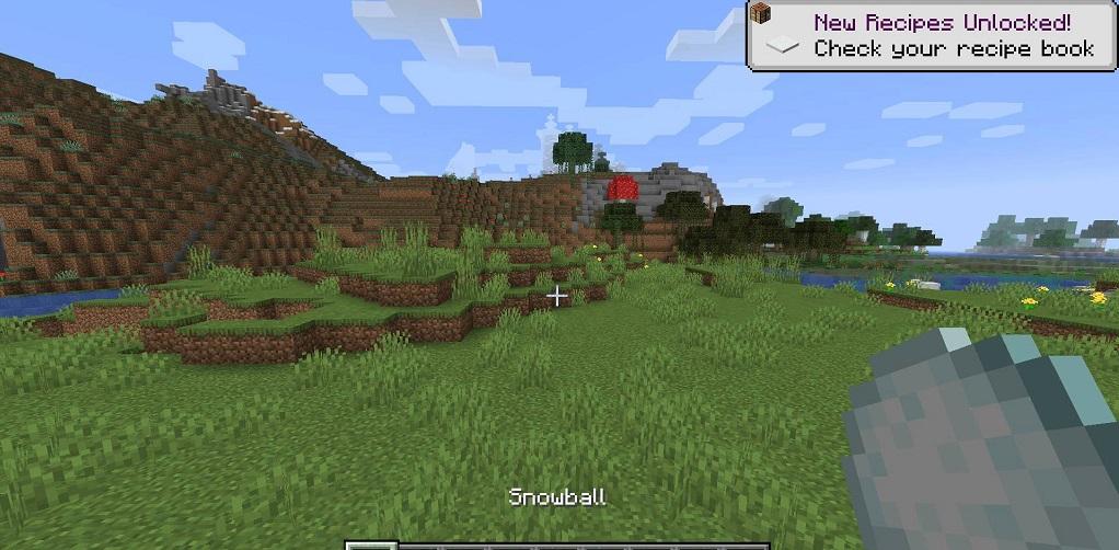 Snowballs Freeze Mobs Mod - Screenshoot 1