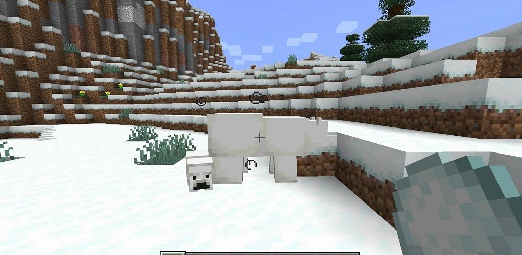 Snowballs Freeze Mobs Mod - Screenshoot 2