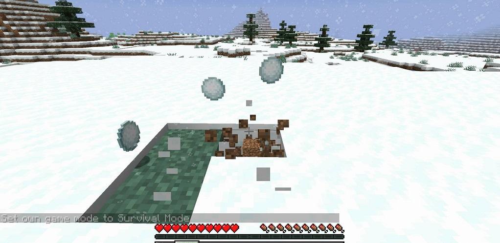 Snowballs Freeze Mobs Mod - Screenshoot 3