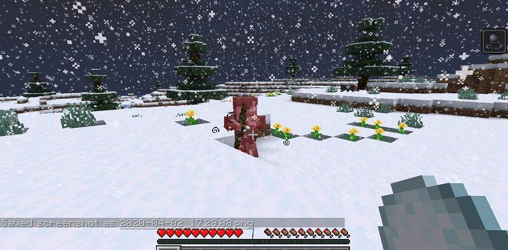 Snowballs Freeze Mobs Mod - Screenshoot 5