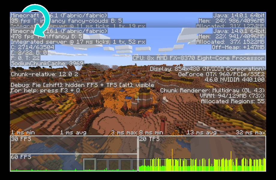 Sodium Mod  - Screenshot 1