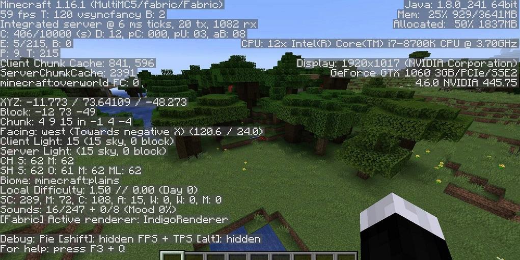Sodium Mod  - Screenshot 2
