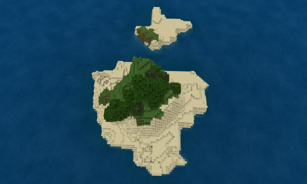 The Texan Secession - Top 5 Best Bedrock Island  Seeds 1.17.1 / 1.16.5 for Minecraft